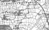 Old Map of Fundenhall, 1882