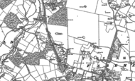 Old Map of Funtley, 1895