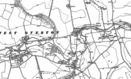 Old Map of Fyfield, 1899