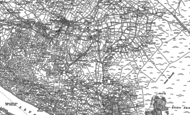 Old Map of Gallt-y-foel, 1888 - 1899
