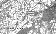 Old Map of Galltegfa, 1899