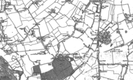 Old Map of Gants Hill, 1894 - 1895