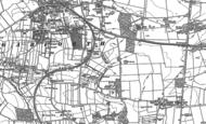 Old Map of Garforth, 1890