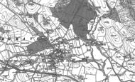 Old Map of Gargrave, 1893 - 1907
