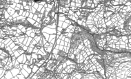 Old Map of Garnswllt, 1905