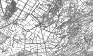 Old Map of Garreg, 1899