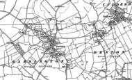 Old Map of Garsington, 1897 - 1898