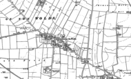 Old Map of Garton-on-the-Wolds, 1891