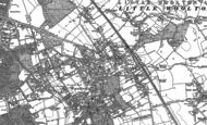 Old Map of Gateacre, 1904 - 1905