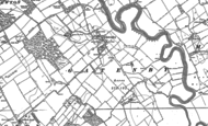 Old Map of Gatenby, 1891