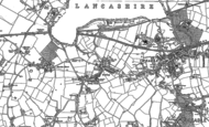 Old Map of Gatley, 1897