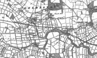 Old Map of Geldeston, 1903