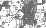 Old Map of George Green, 1897 - 1923