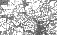 Old Map of Gillingham, 1903