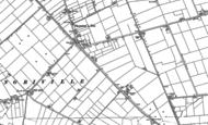 Old Map of Gipsey Bridge, 1888
