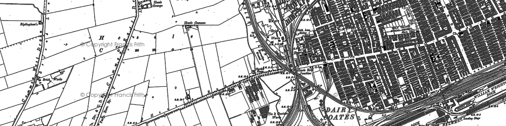 Old map of West Park in 1908