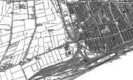 Old Map of Gipsyville, 1908