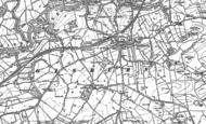 Old Map of Gisburn, 1892 - 1893