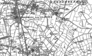 Old Map of Glascote, 1883 - 1901