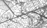 Old Map of Glazebrook, 1894 - 1905