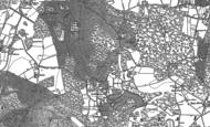 Old Map of Godden Green, 1895