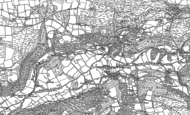 Old Map of Goginan, 1886