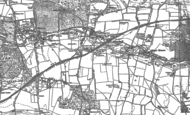 Old Map of Gomshall, 1895