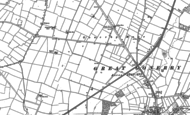 Old Map of Gonerby Moor, 1887
