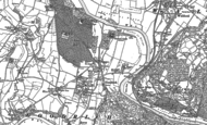 Old Map of Goodrich, 1887 - 1903