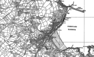 Old Map of Goodwick, 1887 - 1906