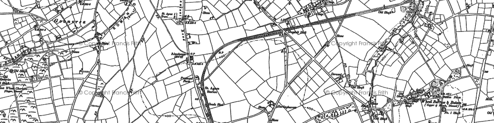 Old map of Goonbell in 1886