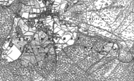 Old Map of Goose Green, 1896