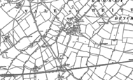 Old Map of Goosey, 1898