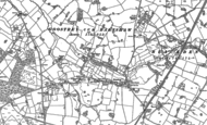 Old Map of Goostrey, 1897