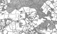 Old Map of Goring Heath, 1897 - 1912