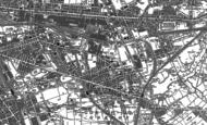 Old Map of Gorton, 1890 - 1906