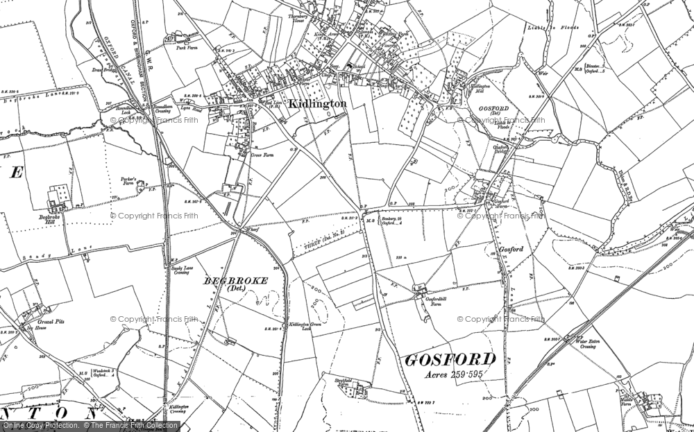 Old Maps of Gosford Francis Frith