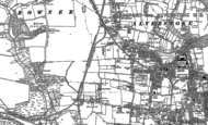 Old Map of Gosport, 1907 - 1908
