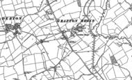 Old Map of Grafton Regis, 1883 - 1899