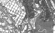 Old Map of Grangetown, 1889 - 1916