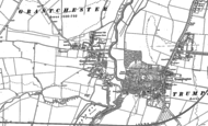 Old Map of Grantchester, 1885 - 1886