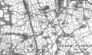 Old Map of Grassmoor, 1877 - 1879