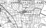Old Map of Grassthorpe, 1884