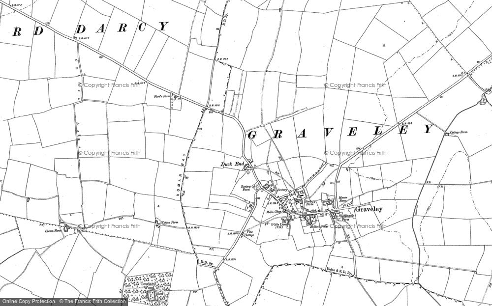 Graveley, 1900