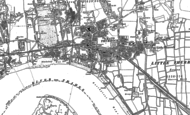 Old Map of Grays, 1895