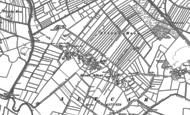 Old Map of Great Altcar, 1892