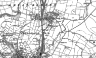 Old Map of Great Bowden, 1899 - 1902
