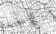 Old Map of Great Broughton, 1892 - 1893