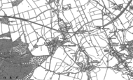 Old Map of Great Cheverell, 1899