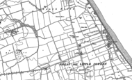 Old Map of Great Cowden, 1889 - 1908